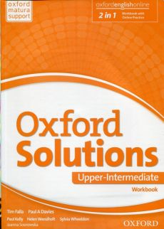 Oxford Solutions Upper Intermediate Ćwiczenia - Davies Paul A., Tim Falla, Joanna Sosnowska