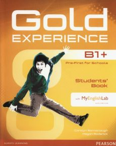 Gold Experience B1+ Students Book + DVD + MyEnglishLab - Carolyn Barraclough, Megan Roderick