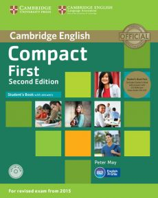 Compact First Student's Book with Answers +2 CD - Peter May