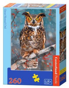Puzzle Great horned Owl 260