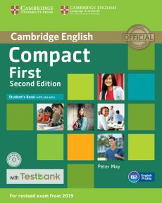 Compact First Student's Book with Answers + CD with Testbank - Peter May