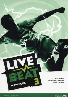 Live Beat 3 Workbok +CD - Rod Fricker, Bartosz Michałowski, Beata Trapnell