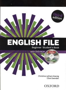 English File Beginner Student's Book + DVD +iTutor - Outlet - Christina Latham-Koenig, Clive Oxenden