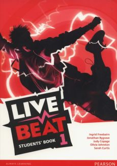 Live Beat 1 Students Book - Outlet - Jonathan Bygrave, Judy Copage, Ingrid Freebairn