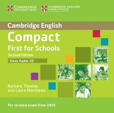 Compact First for Schools Class Audio CD - Outlet - Barbara Thomas, Laura Matthews