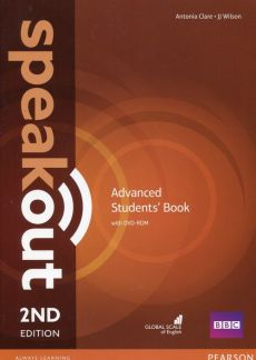 Speakout 2nd Advanced Students Book + DVD-ROM - Antonia Clare, JJ Wilson