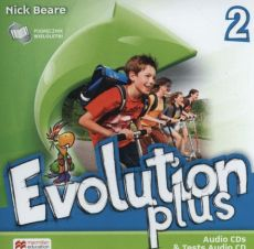 Evolution plus 2 Audio CD do wesji wieloletniej - Outlet - Nick Beare