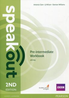 Speakout Pre-Intermediate Workbook with key - Outlet - Antonia Clare, Damian Williams, JJ Wilson