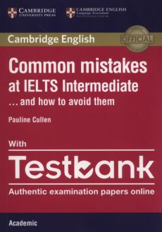 Common Mistakes IELTS intermediate with Testbank - Outlet - Pauline Cullen