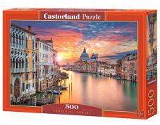 Puzzle Venice at Sunset 500