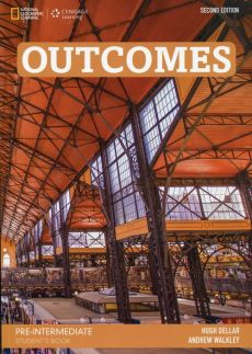 Outcomes Pre-Intermediate Student's Book + DVD - Outlet