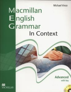 Macmillan English Grammar in Context Advanced with key + CD - Michael Vince, Michael Vince