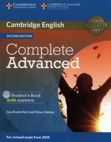 Complete Advanced Student's Book with answers +CD - Guy Brook-Hart, Simon Haines