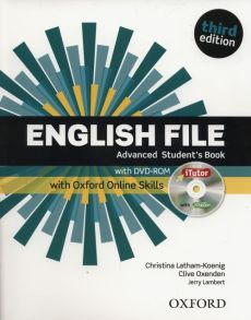 English File Advanced Student's Book +DVD + Oxford Online Skills - Jerry Lambert, Christina Latham-Koenig, Clive Oxenden