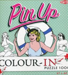 Pin-Up Color-In puzzle do kolorowania 1000