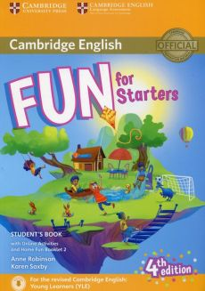 Fun for Starters Student's Book with Online Activities with Audio and Home Fun Booklet 2 - Anne Robinson, Karen Saxby