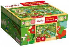 Ludattica Giant Puzzle The Wood 48