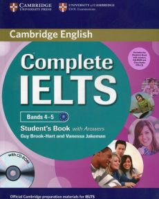 Complete IELTS Bands 4-5 Student's Pack (Student's Book with Answers with CD-ROM and Class Audio CDs (2)) - Guy Brook-Hart, Vanessa Jakeman