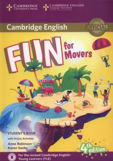 Fun for Movers Student's Book + Online Activities - Anne Robinson, Karen Saxby