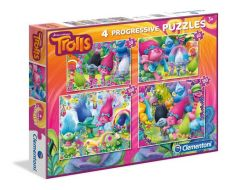 Puzzle Trolle 4 w 1