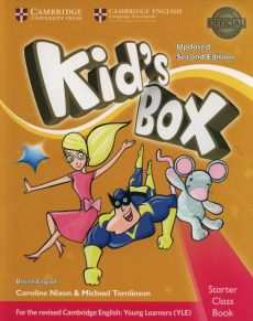 Kid's Box Starter Class Book + CD - Caroline Nixon, Michael Tomlinson