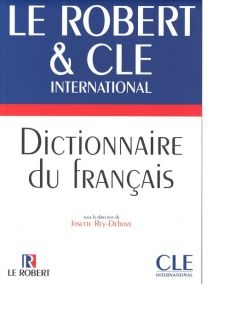 Dictionnaire du francais Le Robert & Cle International - Outlet