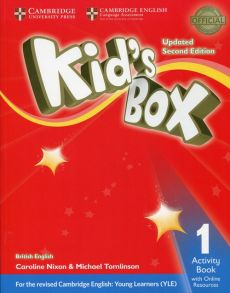 Kid's Box Updated Second Edition 1 Activity Book with Online Resources - Caroline Nixon, Michael Tomlinson