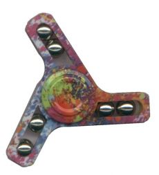 Hand spinner kolorowy 3D Tempo