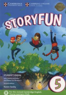 Storyfun 5 Student's Book with Online Activities and Home Fun Booklet - Karen Saxby