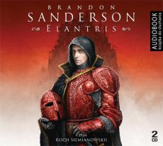 Elantris - CD (Audiobook na CD) - Brandon Sanderson