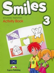 Smiles 3 Activity Book - Outlet - Jenny Dooley, Virginia Evans