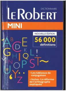 Dictionnaire le Robert mini langue francaise - Outlet