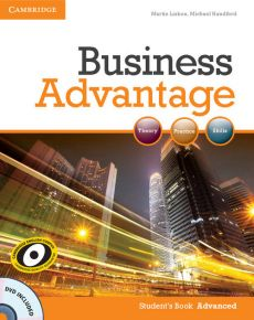 Business Advantage Advanced Student's Book + DVD - Outlet - Michael Handford, Martin Lisboa