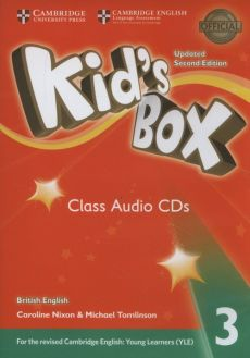 Kids Box 3 Audio CDs