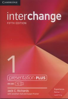 Interchange 1 Presentation Plus USB - Richards Jack C.