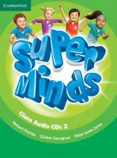 Super Minds 2 Class Audio 3 CD - Günter Gerngross, Herbert Puchta