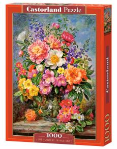 Puzzle 1000 June Flowers in Radiance