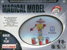 Magical Model Metalowy robot gosposia 96 części