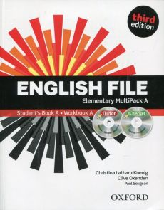 English File Elementary MultiPack A + iTutor + iChecker - Outlet - Christina Latham-Koenig, Clive Oxenden, Paul Seligson