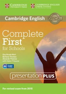 Complete First for Schools Presentation Plus DVD-ROM - Guy Brook-Hart, Amanda Thomas, Barbara Thomas, Helen Tiliouine