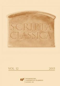 """Scripta Classica. Vol. 12 - 03 What Was the Weight of Ancient Soul? Cicero and the Challenge of Lucretius' """"De Rerum Natura"""""""