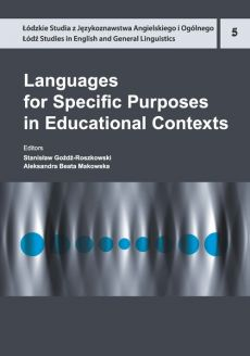 Languages for Specific Purposes in Educational Contexts - Outlet
