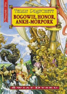 Bogowie,honor,Ankh-Morpork - Terry Pratchett