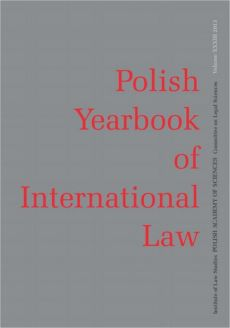 2013 Polish Yearbook of International Law vol. XXXIII - Gino J. Naldi, Konstantinos D. Magliveras: Human Rights and the Denunciation of Treaties and Withdrawal from International Organisations