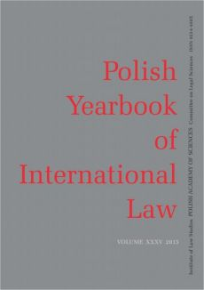 2015 Polish Yearbook of International Law vol. XXXV - Marco Longobardo: Some Developments in the Prosecution of International Crimes Committed in Palestine: Any Real News?