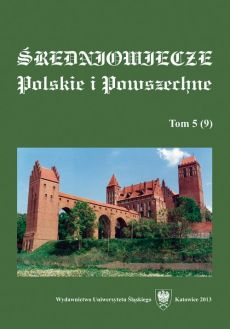 """Średniowiecze Polskie i Powszechne"". T. 5 (9) - 02 Epithets awarded to kings by the skalds and their potential value for historical studies - the case of Magnus the Good"