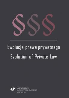 Ewolucja prawa prywatnego - 01 Some topical issues of commercial obligation relationships in the Czech Republic