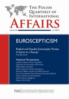 The Polish Quarterly of International Affairs nr 2/2015 - Claudia Chwalisz, Jeffrey Stevenson Murer, Kacper Rekawek, Karol Chwedczuk-Szulc, Ladislav Cabada, Mateusz Zaremba, Natalie Brack, Niklas Bolin, Renaud Thillaye, Robert Ford, Ryszarda Formuszewicz, Stefan Mercier, Szymon Bachrynowski