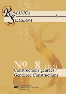 "Romanica Silesiana. No 8. T. 1: Constructions genrées / Gendered Constructions - 22 Sexual Politics : Mapping the Body in Marguerite Duras's ""L'Amant"""