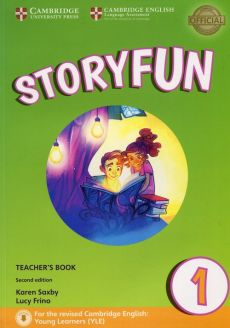 Storyfun for Starters 1 Teacher's Book - Outlet - Lucy Frino, Karen Saxby